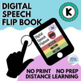 Digital Speech Flip Book /k/: FREEBIE