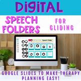 Digital Speech Folder for Gliding - Distance Learning Resource