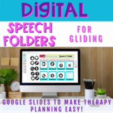 Digital Speech Folder for Gliding - Distance Learning Resource