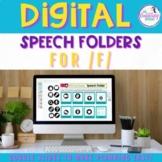 Digital Speech Folder for /f/