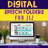 Digital Speech Folder for /l/