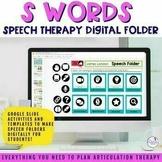 Digital Speech Folder for /s/