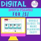 Digital Speech Folder for /s/