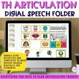 Digital Speech Folder for /th/
