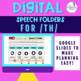 Digital Speech Folder for /th/