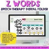 Digital Speech Folder for /z/