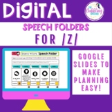 Digital Speech Folder for /z/