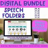 Digital Speech Folders Early Developing Sounds