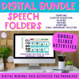 Digital Speech Folders for Phonology BUNDLE