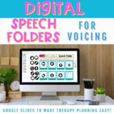 Digital Speech Folders for Voicing Minimal Pair Activities