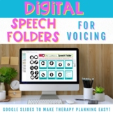 Digital Speech Folders for Voicing Minimal Pair Activities