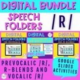 Digital Speech Folders for /r/ BUNDLE