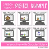 Digital Speech Therapy Distance Learning Bundle | Using Go