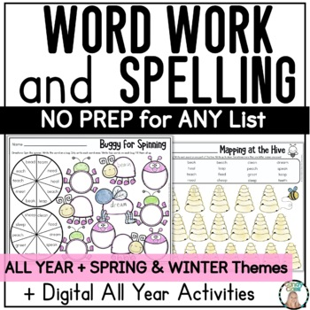 Digital Spelling Activities for Any List of Words with Technology