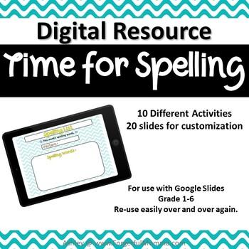 Digital Spelling Resource for Google Drive™