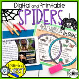 Digital Spider Activities   Fall Activities for October  