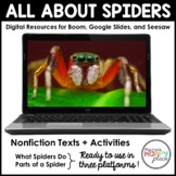 Digital Spiders Activities - Boom, Seesaw, & Google Slides