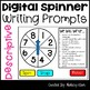 Writing Prompts Digital Spinner