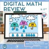 Digital Spring Math Games   Math Review