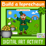 Digital St Patrick's Day Activity | Build A Leprechaun Goo