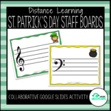Digital St. Patrick's Day Music Magnet Boards - For Distan