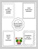 Digital Stamp Borders Clipart PU and CU OK