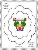 Digital Stamp Flower Borders Freebie PU and CU OK