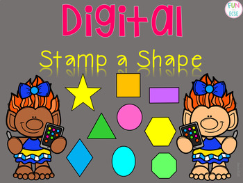 Digital Stamp a Shape