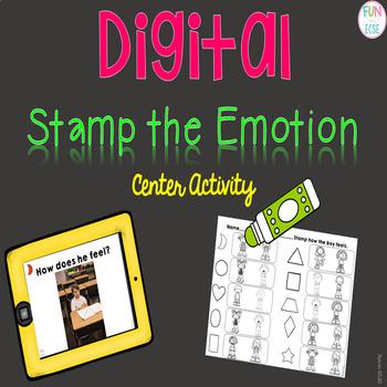 Digital Stamp the Emotion Center Activity
