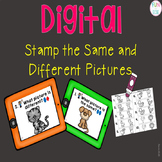 Digital Stamp the Same or Different