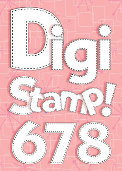 Digital Stamps - Alphabet in Stitches - Upper- and Lowercase