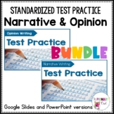 Digital Standardized Test Prep Narrative and Opinion Writing