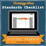 Digital Standards Checklist FREEBIE - Editable Graphic Org