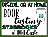 Distance Learning Digital Starbooks Cafe Book Tasting Activity At Home