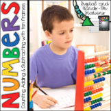 Digital Stations: Counting, Adding, and Subtracting with Ten Frames