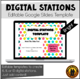 Digital Stations Template for Google Slides | Distance Lea