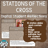 Digital Stations of the Cross Student Reflections