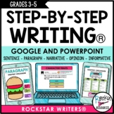 STEP-BY-STEP WRITING® Program for GOOGLE and POWERPOINT |
