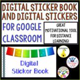 Digital Sticker Book with over 60 Digital Stickers! Distan