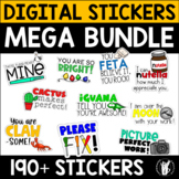 Digital Stickers Bundle for Google Classroom™ and Seesaw™