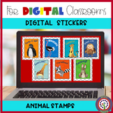Digital Stickers for Google Classroom Distance Learning -
