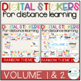 Digital Stickers Distance Learning - Motivational Stickers