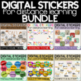 Digital Stickers Distance Learning Variety Pack Growing Bundle
