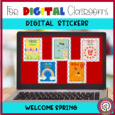 Digital Stickers for SeeSaw and Google Classroom Distance
