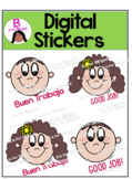 Digital Stickers English & Spanish