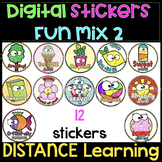 Digital Stickers FUN mix #2 | Distance Learning