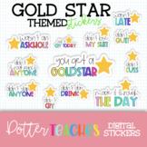 Digital Stickers   Gold Star Stickers, Goodnotes, Google Planner, Teacher Plan