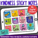 Digital Stickers Positive Message Sticky Notes Set 1 | Dis