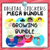 Digital Stickers Spanish Pegatinas Digitales MEGA BUNDLE