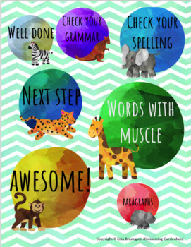 Digital Stickers for Assessment with Animals